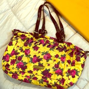 Betsy Johnson Floral Bag